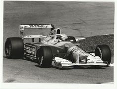 MICHAEL SCHUMACHER CAMEL BENETTON FORD B192 F1 1992 ORIGINAL PERIOD PHOTOGRAPH