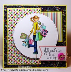 Tracy's Stamping Corner: Style is not a Size....