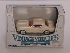 ERTL Vintage Vehicles 1964 1/2 Ford Mustang 1:43 Scale #2586 - NIB #Ertl #Ford