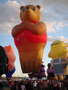Glodeo, Albuquerque Hot Air Balloon Fiesta 2009 | amybami | Flickr