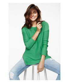 The green knit | Gina Tricot Everyday Essentials | www.ginatricot.com | #ginatricot