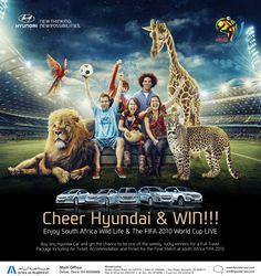 Cheer Hyundai & Win  2010 Fifa Campaign for Hyundai Middle East