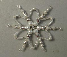 Stamp-n-Design: More Beaded Snowflakes