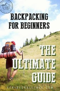 Want to get into backpacking and not sure where to start? Here's an in depth guide to backpacking for all you beginners out there. It's full of backpacking tips, best places for beginner backpackers, Hiking With Kids, Camping And Hiking, Hiking Food, Camping List, Kayak Camping, Winter Camping, Backpacking Training, Backpacking Trails, Ultralight Backpacking