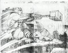 John Romita Jr. Thor Pencils