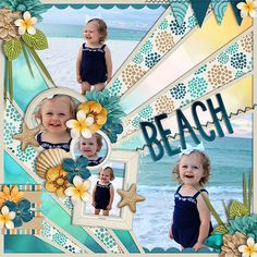 Aussie Life: Beach- BUNDLE by Digilicious, DSI & Flergs www.sweetshoppede… Cindy's Layered Templates – Half Pack Framed 7 by Cindy Schneider www. Beach Scrapbook Layouts, Baby Scrapbook Pages, Vacation Scrapbook, Scrapbook Layout Sketches, Scrapbook Templates, Scrapbook Designs, Disney Scrapbook, Scrapbook Paper Crafts, Scrapbooking Layouts