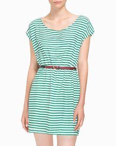 Love green stripes!