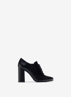 Blucher tacão - Sapatos de salto - Calçado - Uterqüe Portugal