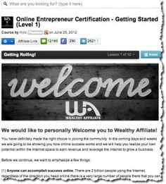 Wealthy Affiliate is truly the best affiliate marketing training there is! (From my experience anyway.)   http://addmoreincome.com/wealthy-affiliate-the-best-affiliate-training-course-period