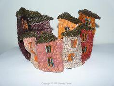Urban tapestry weaving Wendy Fowler