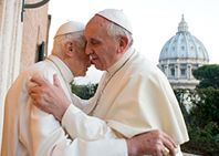 Pope Francis' lunch with Benedict XVI