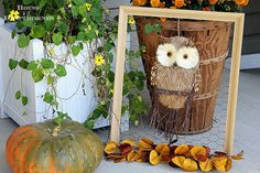 Non - Traditional Fall Wreath