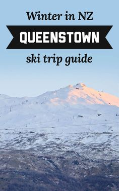Queenstown is an amazing winter destination that has something for everyone, whether it's your first-time attempting to slide down a mountainside or you've been doing it for years. Here's all my tips for hitting the slopes in NZ on a Queenstown ski trip! | A Globe Well Travelled Skiing, Globe, Wellness, Mountains, Amazing, Winter, New Zealand Travel, First Time, Travel Tips