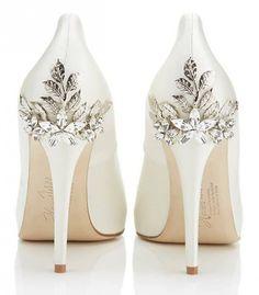 Sparkle Ivory Wedding Heels