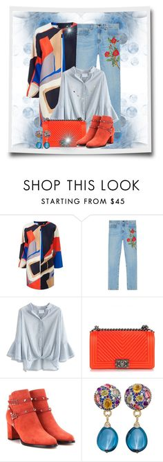 """""""Rise And Shine!"""" by flippintickledinc ❤ liked on Polyvore featuring Amina, Gucci, Chicwish, Chanel, Valentino and Ippolita"""