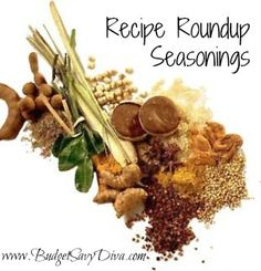Seasoning Recipe for just about everything. Most of them are gluten - free