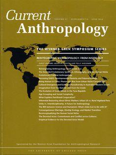 Current Anthropology v. 57, supl. 13 (2016)