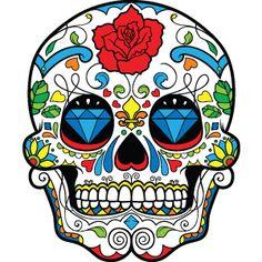 20 Mejores Imágenes De Calaveras Mexican Skulls Skulls Y Candy Skulls