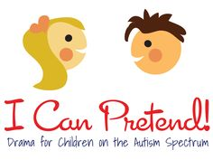 I Can Pretend!  Drama class for children with autism, helping them to play with peers, use their imagination. #special #needs Music Therapy, Art Therapy, Speech Therapy, Student Teaching, Teaching Tools, Teaching Ideas, Drama School, Drama Class, Class Projects