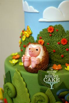 Hedgehog cake