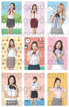 Twice Korea fanpage school looks photocard TWICEcoaster : LANE 1 TT kpop sana #twice #tt #twicett