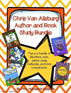 Chris Van Allsburg Author and Book Study includes Jumanji, Polar Express, Zathura, Two Bad Ants, and Garden of Abdul Gasazi. In addition, there are many bonus pages about Chris.  Great unit for grades 2 - 4.  https://www.teacherspayteachers.com/Product/Ch