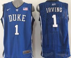 19a4b4d7a3b Men's Duke Blue Devils IRVING Basketball Jersey NCAA Basketball Jersey for  Men: Names and numbers are sewed on jerseys. Football jersey for football  fans.
