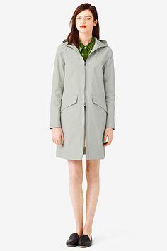 Make It Rain! 14 Chic Slickers To Brighten Your Day  #refinery29  http://www.refinery29.com/best-rain-jackets#slide2