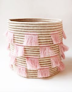 These artisan-made baskets are both chic and functional | archdigest.com