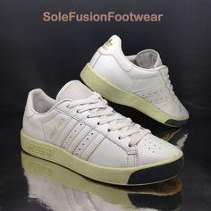 21583f3da9 adidas Originals Forest Hills White Trainers Sz 5 Unisex Women's Boys EU 38  5.5 for sale online   eBay. Velcro ShoesForest Hill3 ...