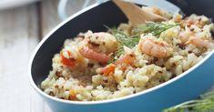 Recette de Quinoa aux crevettes et safran. Facile et rapide à réaliser, goûteuse et diététique. Ingrédients, préparation et recettes associées.