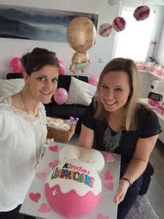 Kinder Überraschung Babybauchtorte - Baby belly cake