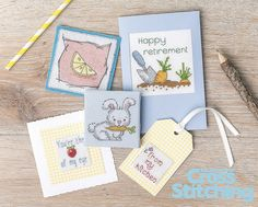 Get your '5-a-day' fix with our cross stitch charts. Enjoy these tasty fruit and veg motifs in our newest collectable Design Library of motifs, in The World of Cross Stitching new issue, 220. Cards… gift makes… ideas for your home… Lots of options!