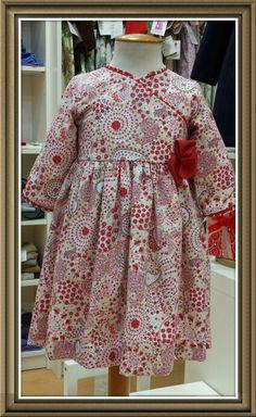 Ropa de niños. Children fashion.  Girls dresses. Coleccion de el taller de la abuela.  www.eltallerdelaabuela.es
