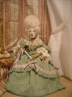 Art Doll Dangerous Liaisons Marie Antoinette the Duchess Inspired Marie Antoinette Doll