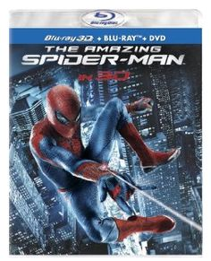 Amazon: The Amazing Spider-Man Four-Disc Combo for $17.99 (Reg. $55.99) - Closet of Free Samples