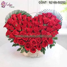 This set of 50 red roses can speak volumes when it comes to expressing your love and heartfelt feelings. These roses are freshly plucked and thus can last for a longer period of time. Valentines Day Gifts Boyfriends, Happy Valentines Day Images, Valentines Day Wishes, Valentines Day Hearts, Send Flowers Online, Order Flowers, Rose Bouquet Valentines, Pink Carnations, Same Day Flower Delivery