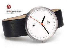Danish Design Minimalist Watch - very clean design, hidden band connection.