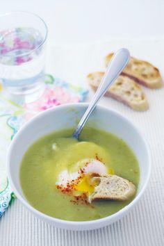 Sopa de espargos