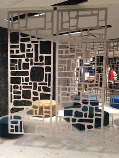 Best of NeoCon 2016 - Design Milk Partition Screen, Divider Screen, Room Deviders, Space Dividers, Divider Design, Interior And Exterior, Interior Design, Commercial Interiors, Office Interiors