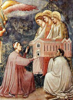 Giotto | Espiazione di Enrico | 1303-1305 | Padova, Cappella degli Scrovegni | Affresco