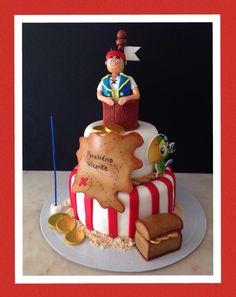 Jake e os piratas Bolo  Cake