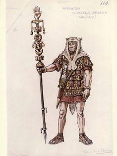 Vittorio Nino Novarese costume sketch for Cleopatra directed by Joseph L. Mankiewicz, 1963