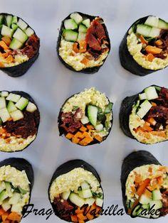 Raw Summer Sushi Rolls @FragrantVanillaCake