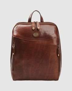 The Bridge leather backpack - practical and slightly fabulous ;-)