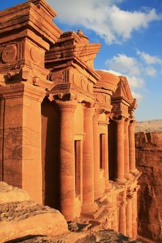 The historical city of Petra