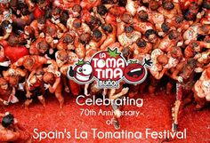 Let's Celebrate the fun for 70th Anniversary of Spain's #LaTomatina Fest. https://www.facebook.com/amaherbal/photos/a.283777945111081.1073741829.274434279378781/514065905415616/?type=1&theater…
