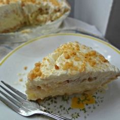 """Yoder's Peanut Butter Pie-a recipe for the classic, from scratch, """"Best Peanut Butter Pie"""" from Yoder's Amish Restaurant in Sarasota."""