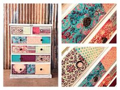 Love these drawers by Serendipity.