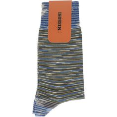 MISSONI Space Dye Socks ($75) ❤ liked on Polyvore featuring men's fashion, men's clothing and men's socks